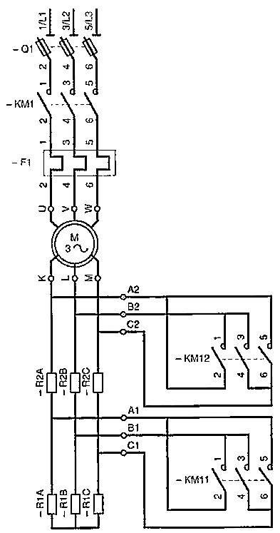 wound rotor motor wiring diagram